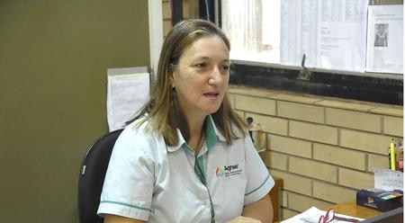 A servidora trabalha há 14 anos com agricultura familiar