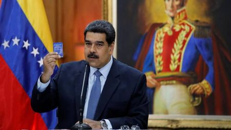 A Assembleia Nacional, eleita em 2015 e de maioria opositora, qualificou Maduro de