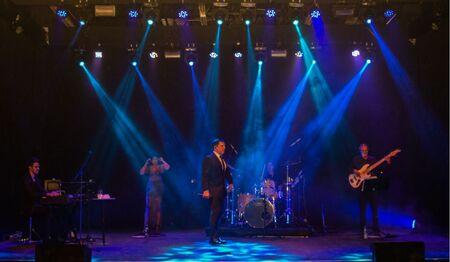 O ator e cantor Daniel Boaventura realizou um show que divertiu e marcou a inauguração do espaço em Campo Grande