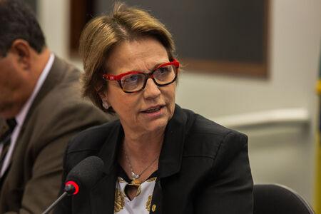 Tereza Cristina reafirmou sua disposição para o diálogo