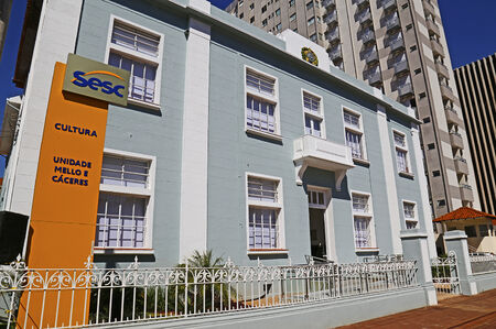 O Sesc Cultura está localizado na Avenida Afonso Pena, nº 2270. O Sesc Corumbá fica na rua 13 de junho, 1703