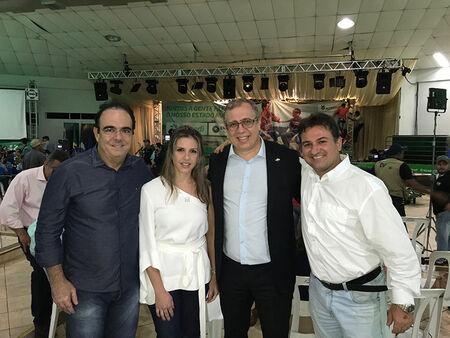 Felipe parabeniza o Governo do Estado por apoiar o agronegócio e suas atividades econômicas através da feira de negócios