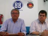 Ildemar e Estevão, presidente e vice da Força Sindical