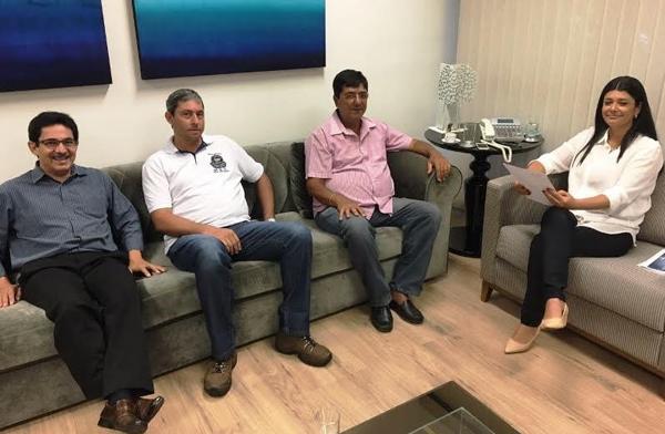Representantes da direção da FETEMS estiveram em reunião com a vice-governadora do Estado de Mato Grosso do Sul, Rose Modesto