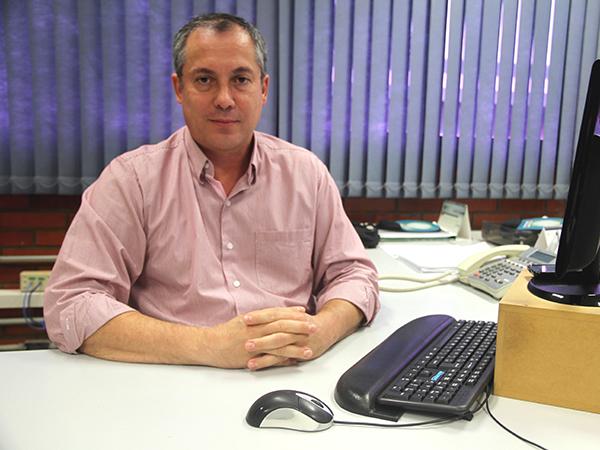 Luiz Fernando Ferreira dos Santos, chefe da Divisão de Registro de Condutores, do Detran