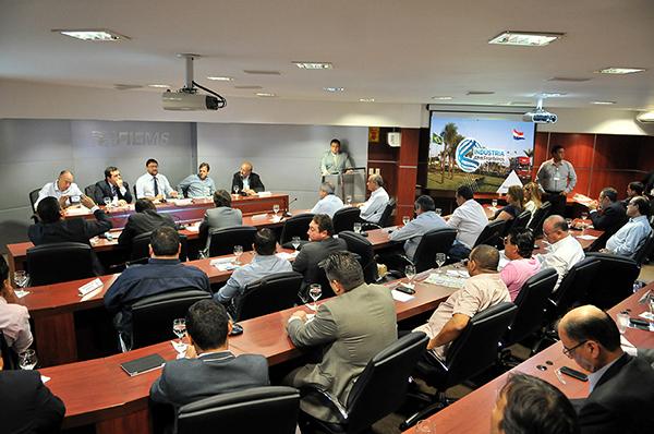 Presidente da Fiems, Sérgio Longen, lança nesta terça-feira (21), no Edifício Casa da Indústria o projeto Indústria sem Fronteiras