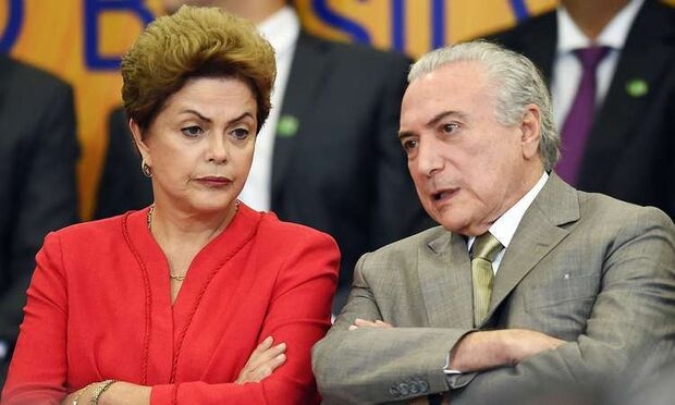 Chapa Dilma Rousseff-Michel Temer foi reeleita em 2014