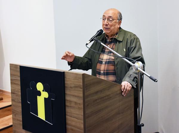 Pedro Chaves no encontro com os prefeitos em Campo Grande,MS
