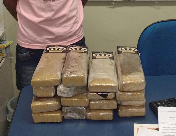 Rapaz disse que pegou a droga em Ponta Porã, na fronteira com o Paraguai