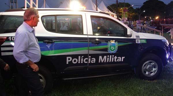 Viaturas vão reforçar a frota das polícias Militar e Civil, além do Corpo de Bombeiros