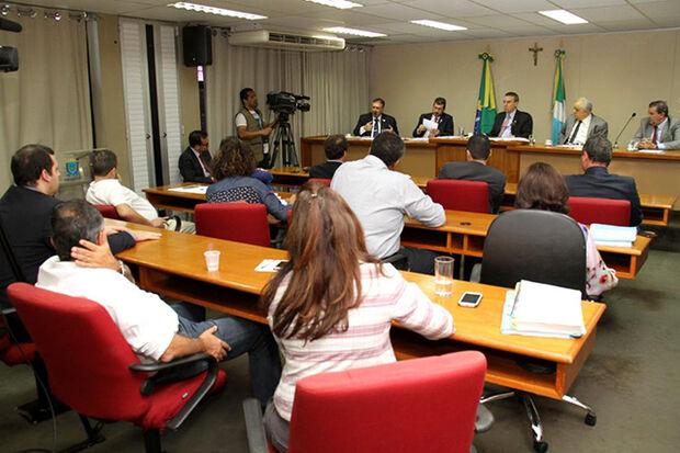 Reunião da CPI na Assembleia Legislativa