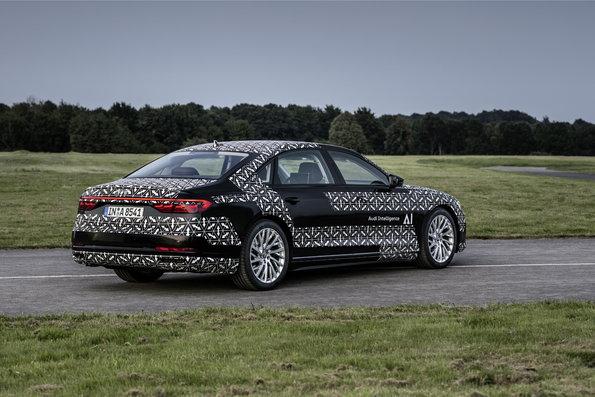 O novo Audi A8 incorpora a condução automatizada condicional no nível 3 como item de série