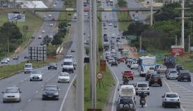 Brasilia - Movimento de saída para o feriado de carnaval tranquilo no Aeroporto JK e rodovias do Distrito Federal(Fábio Rodrigues Pozzebom/Agência Brasil)