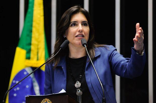 A senadora Simone Tebet (PMDB-MS) fez uma homenagem aos 40 anos do Mato Grosso do Sul, em discurso no Plenário do Senado nesta terça-feira (10).