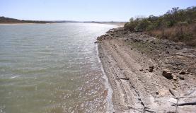 Brasília - Barragem do Descoberto opera com volume útil de 23,7% da capacidade (Marcelo Camargo/Agência Brasil)
