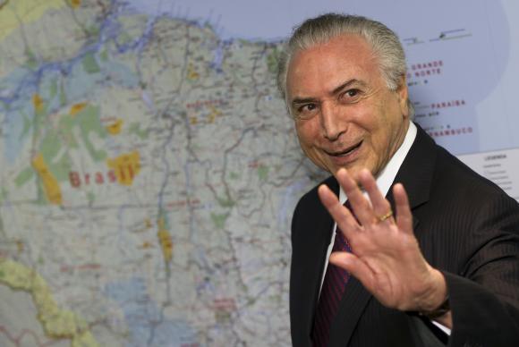 Brasília - O presidente Michel Temer durante reunião com o presidente da Associação Nacional dos Fabricantes de Veículos Automotores (Anfavea), Antonio Megale, e dirigentes das empresas associadas, no Palácio do P