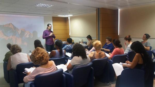 A palestra será ministrada pelo Professor Sérgio Roberto Ceccato Filho, que é terapeuta e pesquisador em Terapias Bioquânticas