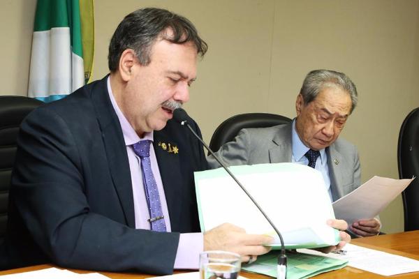 Deputados Dr. Paulo Siufi e George Takimoto estão entre os autores da nova lei
