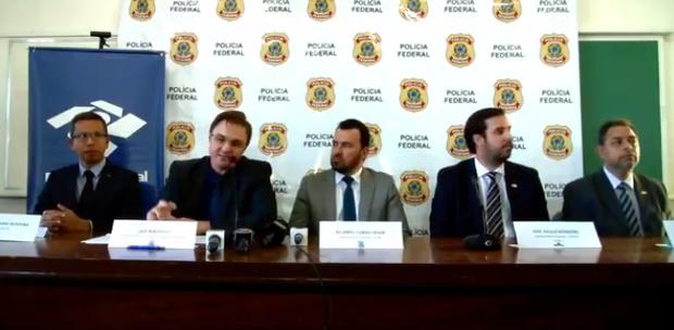 Receita Federal, CGU e Polícia Federal prestam informações sobre a Operação Papiros de Lama