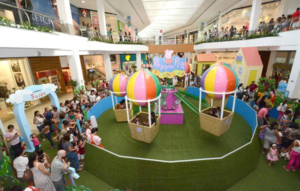 Muitas cores e brincadeiras irão contagiar as crianças de Campo Grande a partir do dia 18 de novembro, quando será inaugurado o Natal do Shopping Campo Grande