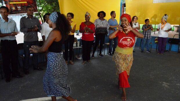 O projeto social da comunidade quilombola São João Batista também estarão presentes