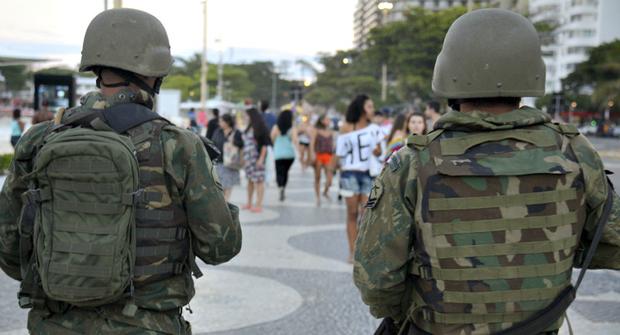 O trabalho de segurança na região já é realizado pela Força Nacional de Segurança Pública