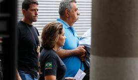 Rio de Janeiro - O deputado Jorge Picciani se apresenta à Polícia Federal (PF) após nova ordem de prisão expedida pelo Tribunal Regional Federal da 2 Região (Tomaz Silva/Agência Brasil)
