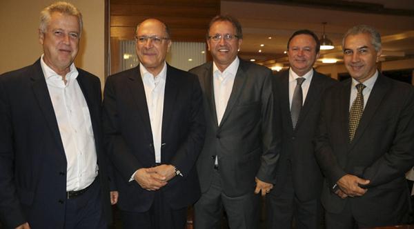 Consórcio dos Governadores do Brasil Central – composto pelos representantes dos executivos estaduais Reinaldo Azambuja (Mato Grosso do Sul), Rodrigo Rollemberg (Distrito Federal), Marconi Perillo (Goiás), Pedro Taques (Mato Grosso), Confúcio Moura (Rondô