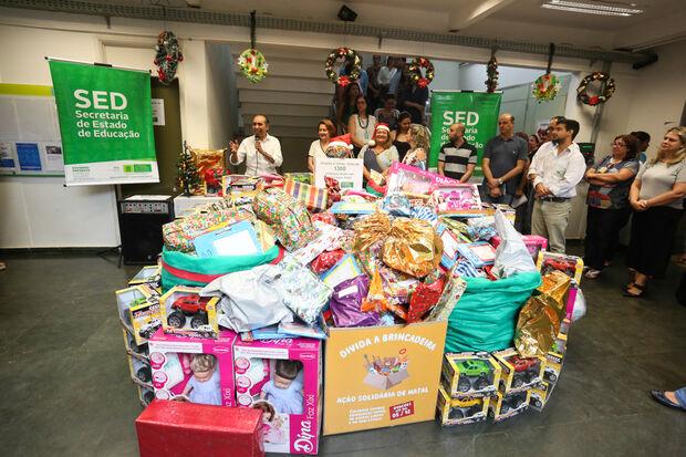 A arrecadação é resultado do Dia D, instituído nos órgãos estaduais para mobilizar uma doação coletiva.