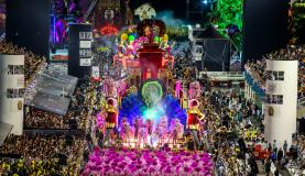 São Paulo - Vai-Vai desfila no segundo dia dos desfiles das escolas de samba do Grupo Especial de São Paulo, no Sambódromo do Anhembi (Divulgação/ Rafael Neddermeyer/LIGASP/Fotos Públicas)