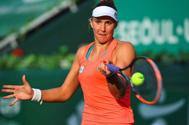 Tenista brasileira Bia Haddad