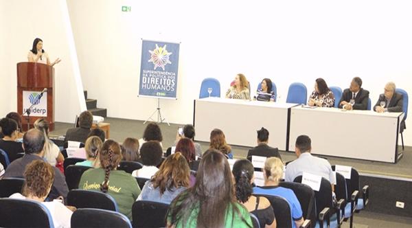 Ana Lúcia Américo, lembrando que os direitos humanos, diferentemente do que muito se propaga, é para toda a sociedade e não apenas para uma parcela específica.
