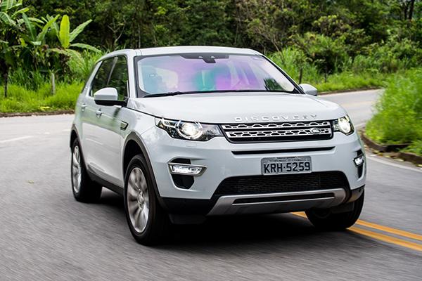 O Range Rover Evoque foi eleito pela Agência Autoinforme este ano como o veículo do segmento crossover com o melhor valor de revenda, ou seja, o que menos sofre depreciação após um ano de uso.