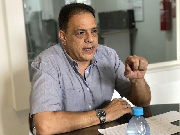 Engenheiro civil Marco Antônio Paulino Maia