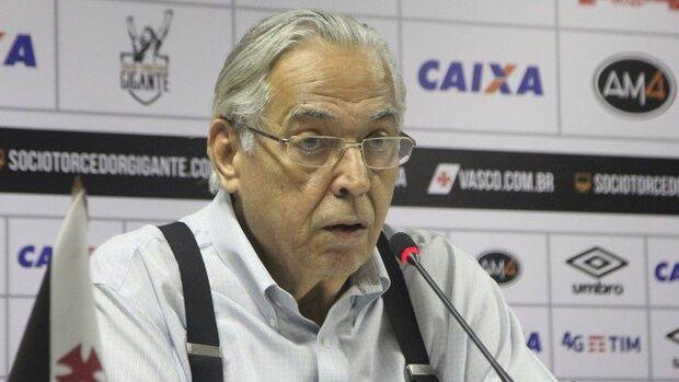 Eurico Miranda, presidente do Vasco, tenta recurso na Justiça