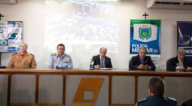 Secretário da Sejusp, apresentou o planejamento do policiamento especial de final de ano denominado Operação Boas Festas.