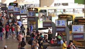 transporte público ônibus rodoviária