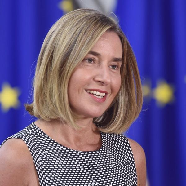 Federica Mogherini, comissária de política externa da União Europeia