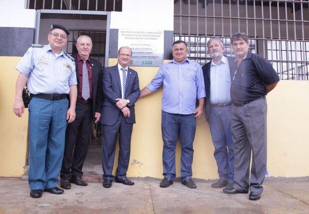 """""""Essas realizações se tornam possíveis graças aos parceiros da Agepen, por isso, parabenizo a todos que contribuem, de alguma forma, com o sistema penitenciário do Estado"""", agradeceu o diretor-presidente da instituição, Aud de Oliveira Chaves."""