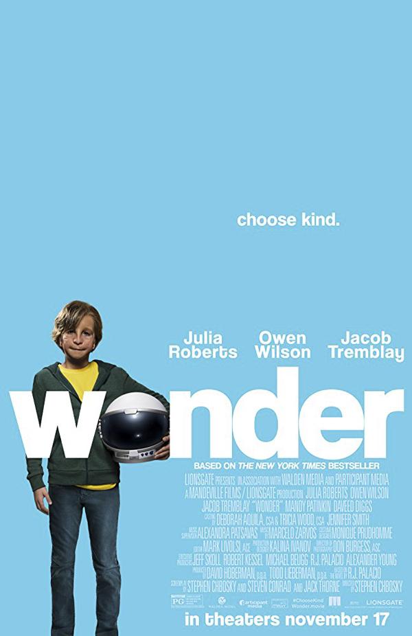 O próprio filme é fora de série. Não por acaso, chama-se Extraordinário.