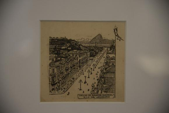 Avenida Central e a Memória Arquitetônica do MNBA, em comemoração aos 81 anos do Museu Nacional de Belas Artes (Fernando Frazão/Agência Brasil)