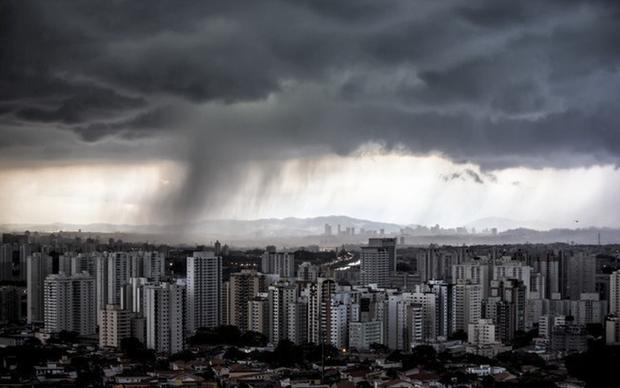 As chuvas devem diminuir e a temperatura pode variar entre 18ºC e 26ºC