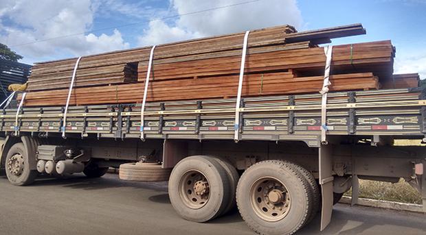 A empresa transportadora, que é de São Fernando (GO), foi autuada administrativamente e multada R$ 6.000,00 pela PMA