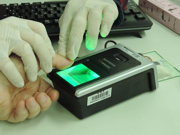 Cadastro de biometria é obrigatório
