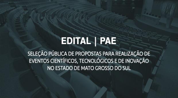 O edital tem como objetivo fortalecer os grupos de pesquisa e debater temas estratégicos que representem significativa contribuição científica e tecnológica para o desenvolvimento de Mato Grosso do Sul
