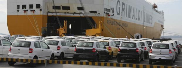 Venda de veículos produzidos no Brasil para o exterior bate recorde