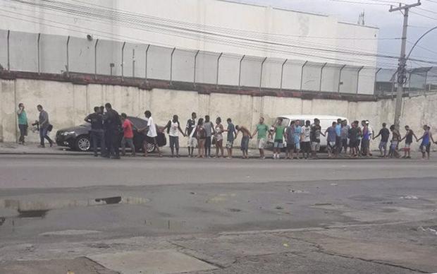 O corpo de Monteiro estava em um Chevrolet Cobalt preto abandonado na Avenida Dom Helder Câmara, perto do Viaduto de Benfica