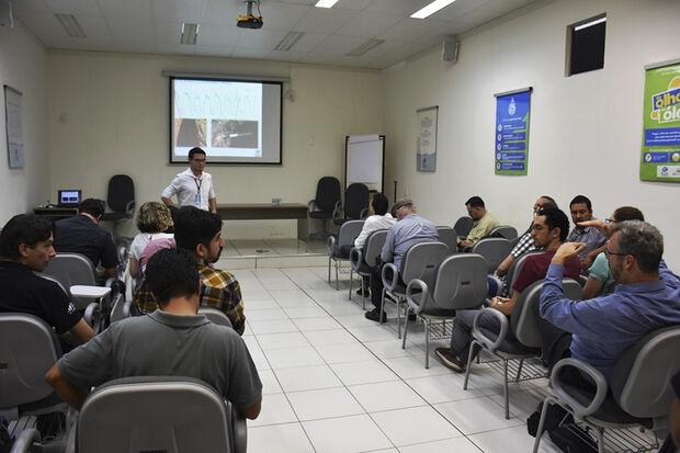 Esta é a segunda vez que a Escola acontece na América Latina e a primeira vez no país