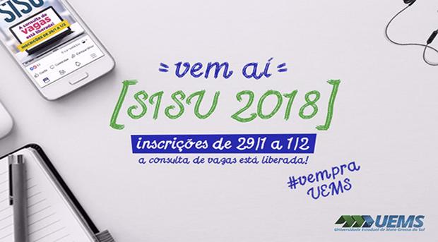 O Sisu é o sistema informatizado, gerenciado pelo Ministério da Educação (MEC), pelo qual instituições públicas de educação superior oferecem vagas a candidatos participantes do Exame Nacional do Ensino Médio (Enem)