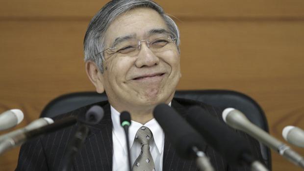 Em relação à recente turbulência no mercado global de ações, Kuroda disse estar monitorando os recentes movimentos